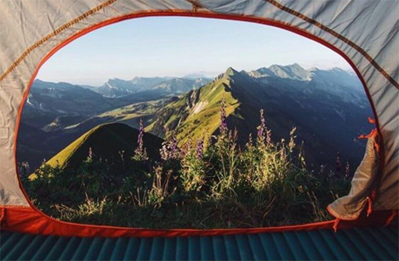 אוהל עמיד במים לכל המשפחה